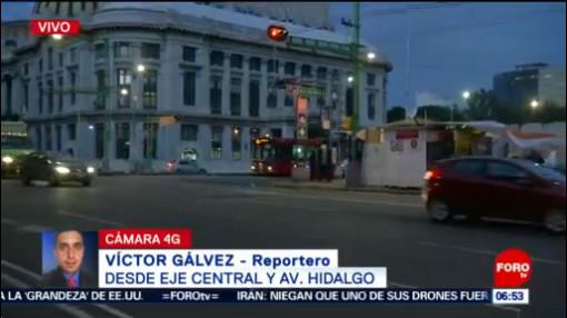 Cerradas seis estaciones de del Metro, de Garibaldi a Obrera