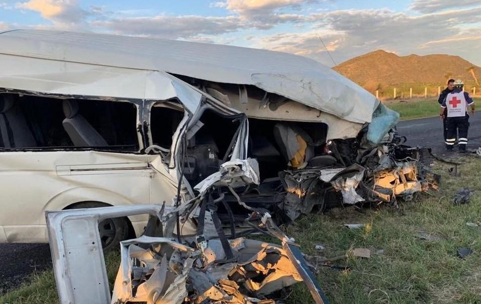 Foto: choque en carretera Saltillo-Torreón, 4 de julio 2019. Twitter @heraldosaltillo