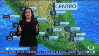 Clima Al Aire: Lluvias puntuales en Sonora, Chihuahua, Durango y Sinaloa