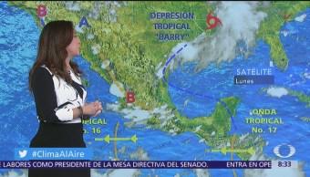Clima Al Aire: Onda tropical 16 provocará lluvias en gran parte de México