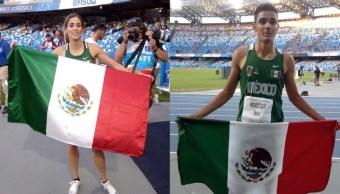 foto Velocistas mexicanos ganan oro en Universiada Mundial 10 julio 2019
