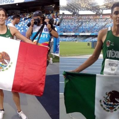 ¡Orgullo nacional! Velocistas mexicanos ganan oro en Universiada Mundial