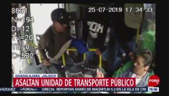 Foto: Robo Transporte Machete Guadalajara GDL Video 31 Julio 2019