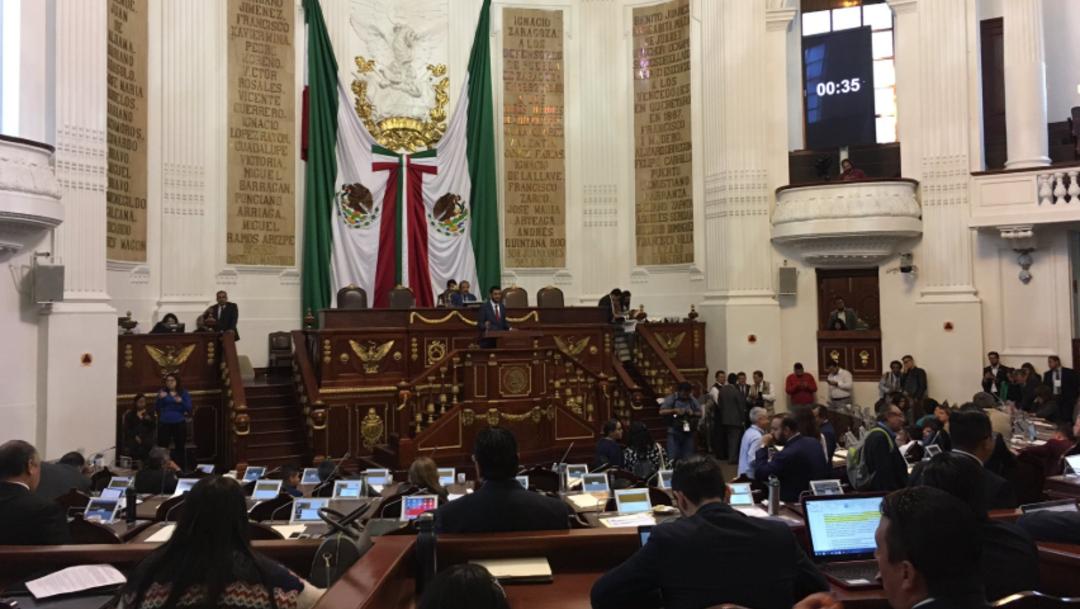 Foto: Será el feminicidio el delito con mayor sanción en la Ciudad de México, 30 de julio de 2019 (Twitter @Congreso_CdMex)