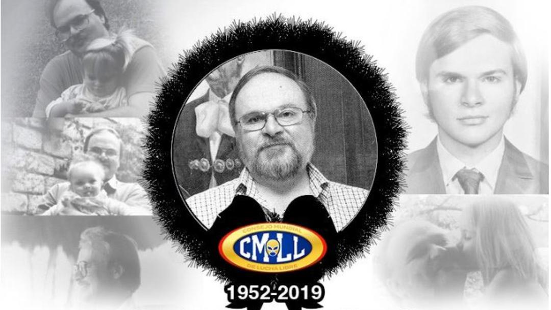 Foto: Francisco Alonso Lutteroth, presidente del Consejo Mundial de Lucha Libre, murió el sábado, el 7 de julio de 2019 (Consejo Mundial de Lucha Libre)