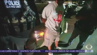 Continuarán arrestos de migrantes en Estados Unidos