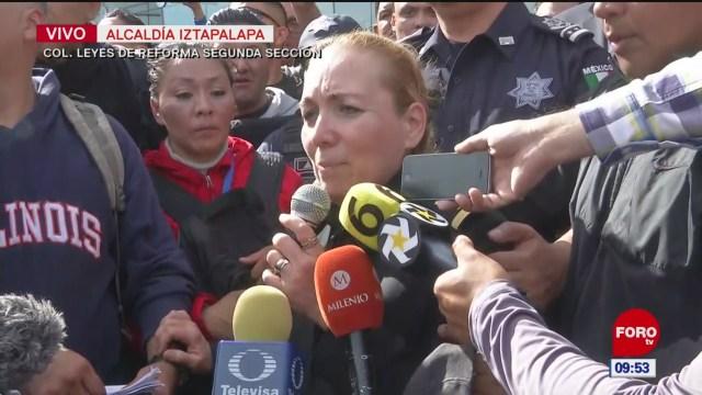 Coordinadora de la Guardia Nacional ofrece diálogo a policías
