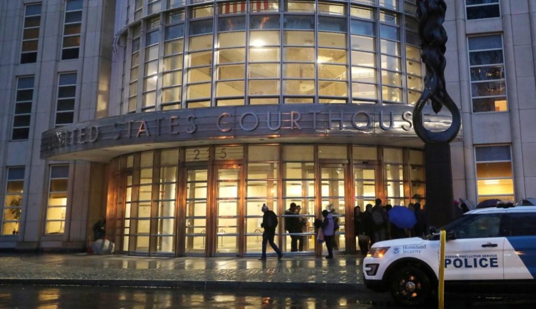 Foto: Corte de Brooklin, donde fue enjuiciado El Chapo Guzmán