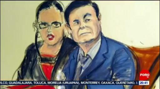 Foto: Sentencia Miércoles El Chapo Guzman 16 Julio 2019