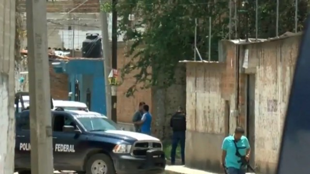 Foto: Policías en finca de Tonalá, Jalisco, 23 de julio de 2019, México