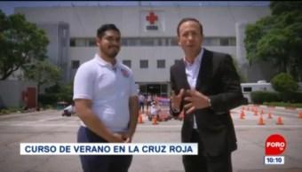 Curso de verano en la Cruz Roja