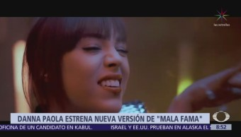 Danna Paola regresa a la escena musical