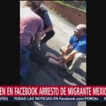 Foto: Deportan Migrante Mexicano Sacado Auto Agentes Ice 25 Julio 2019