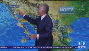 Despierta con Tiempo: Calor en el norte de México y lluvias en el centro
