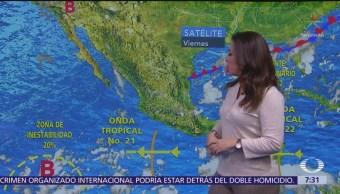 Despierta con Tiempo: Persisten lluvias vespertinas en Valle de México