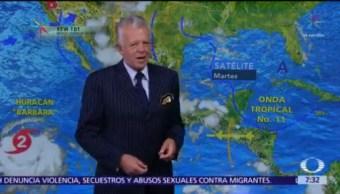 Despierta con Tiempo: Pronostican lluvias fuertes en Valle de México