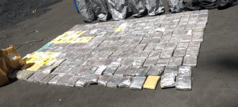 FOTO Detenidos en México 19 filipinos por narcotráfico (Twitter)