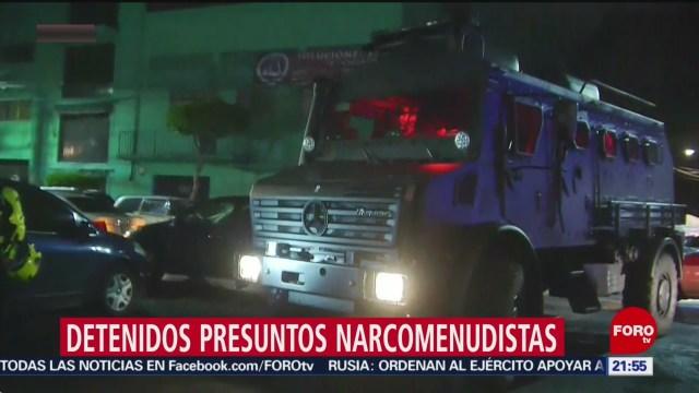 Foto: Detienen Presuntos Narcomenudistas Cdmx 31 Julio 2019