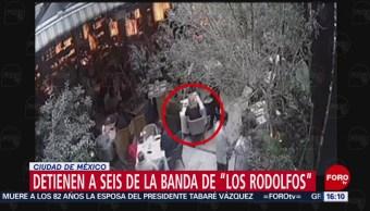 FOTO: Detienen seis presuntos integrantes Los Rodolfos Xochimilco
