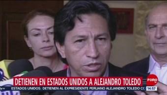 Detienen al expresidente peruano Alejandro Toledo