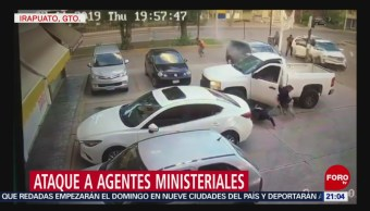 Foto: Video Ataque Agentes Ministeriales Irapuato 12 Julio 2019
