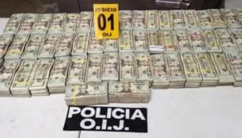 Foto: Las autoridades de Costa Rica detienen a dos mexicanos que transportaban 84 mil dólares ocultos en una avioneta, julio 6 de 2019 (Foto: periodicocorreo)