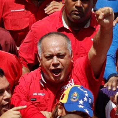Venezuela, lista para una 'guerra absoluta' con EU: Diosdado Cabello