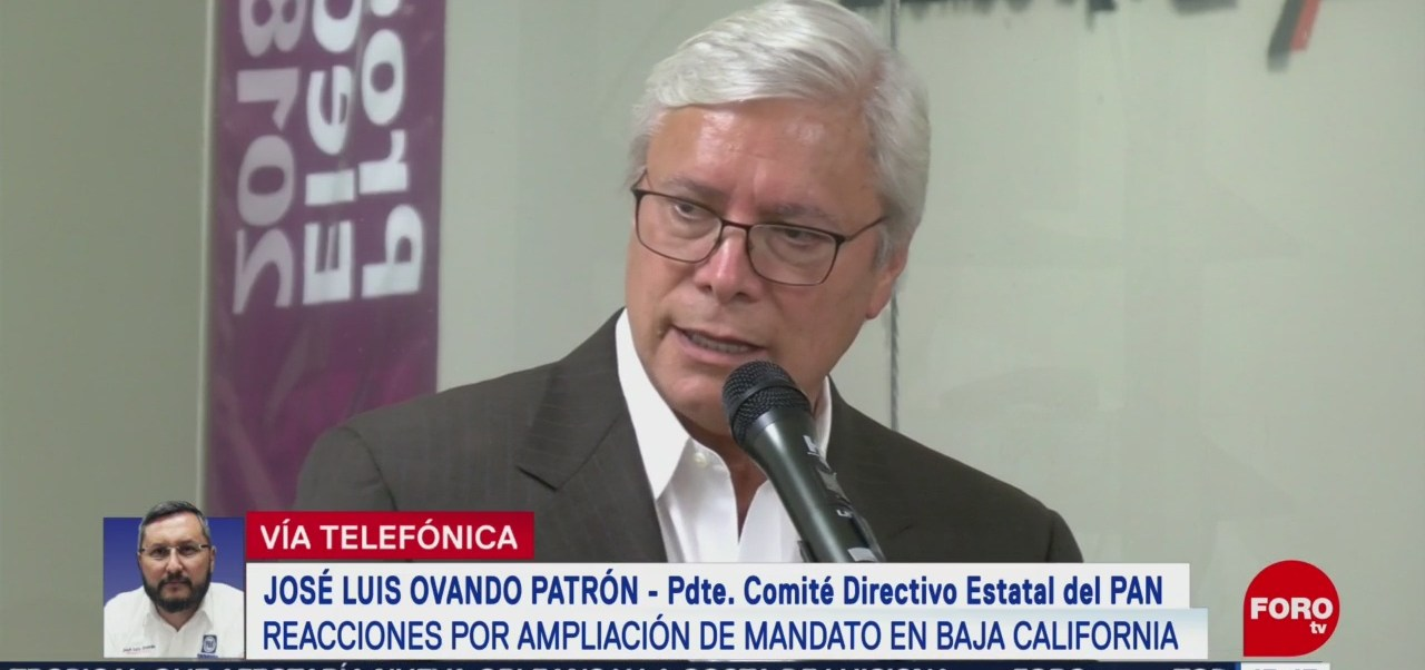 FOTO: Diputados panistas de BC agarraron el camino fácil de la corrupción: José Luis Ovando