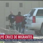 Disminuye el cruce de migrantes a Estados Unidos
