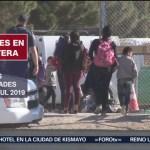 FOTO: Disminuye la llegada de migrantes a Chihuahua