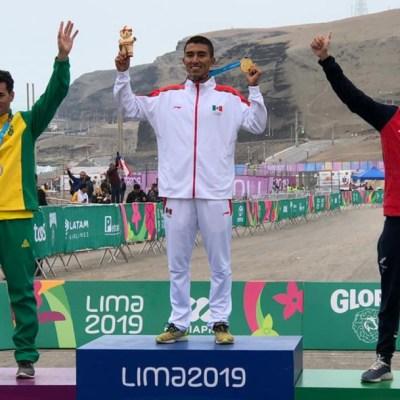 Ciclista Gerardo Ulloa, consigue el octavo oro para México en los Panamericanos