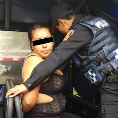 Trasladan a mujer detenida por ataque en Artz Pedregal a penal de Santa Martha