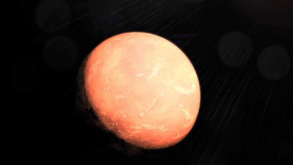 Foto: planeta b cercano a la GJ 357, recreación. 31 de julio 2019