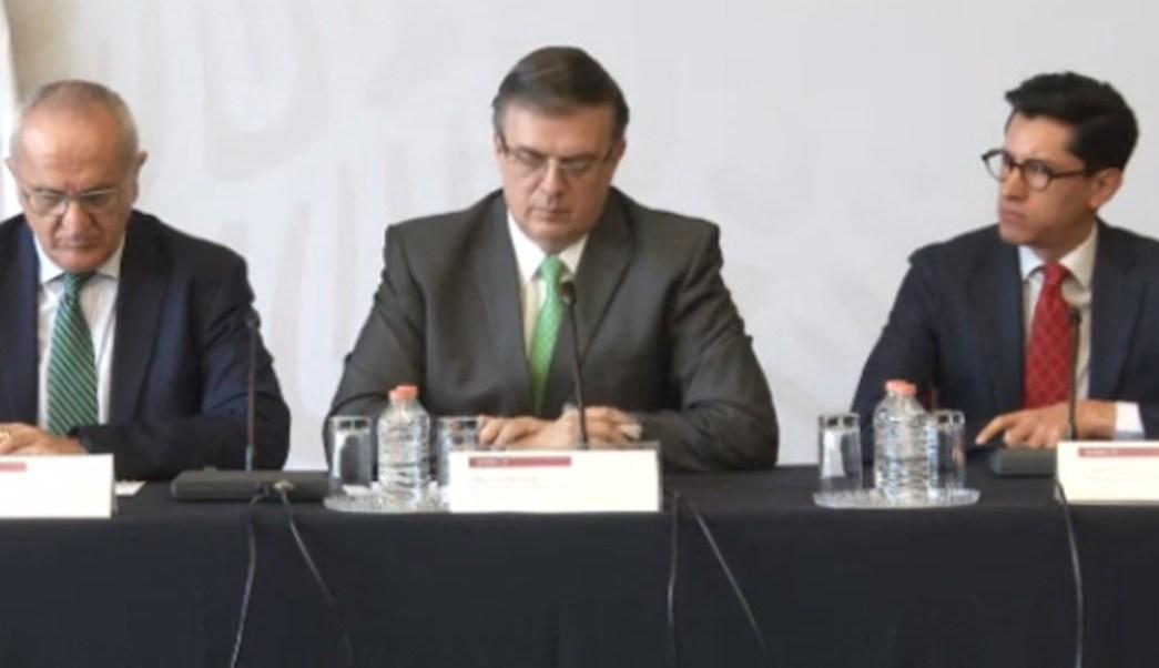 FOTO México no es tercer país seguro con cambios a sistema de asilo en EU, dice Ebrard