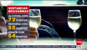 Foto: Alcohol Riesgo Drogas 9 julio 2019
