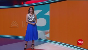 El Clima 'A las Tres' con Daniela Álvarez del 22 de julio de 2019