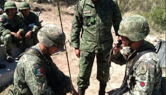 Foto: Cadetes y alumnos de los planteles del Sistema Educativo Militar realizan ejercicios militares de aplicación , 2 de julio 2019. Twitter @SEDENAmx
