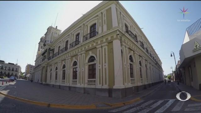 Foto: Vestigios Palacio Gobierno Colima 19 Julio 2019