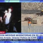 FOTO: Endurecen medidas migratorias en Estados Unidos, 13 Julio 2019