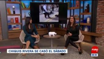 #EspectáculosenExpreso: Chiquis Rivera se casó el sábado