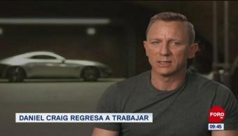 #EspectáculosenExpreso: Daniel Craig regresa a trabajar