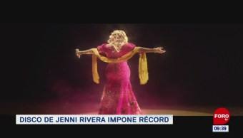 #EspectáculosenExpreso: Disco de Jenni Rivera impone récord