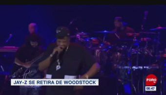 #EspectáculosenExpreso: Jay-z se retira de Woodstock