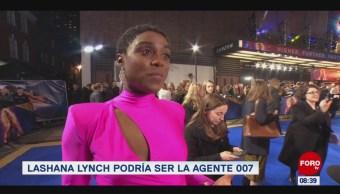 #EspectáculosenExpreso: Lashana Lynch podría ser la Agente 007
