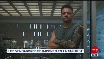 #EspectáculosenExpreso: Los Avengers se imponen en la taquilla