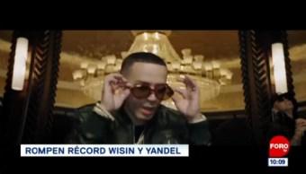#EspectáculosenExpreso: Rompen récord Wisin y Yandel