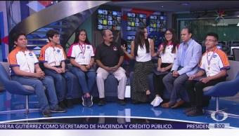Estudiantes de la Academia Aeroespacial de México participan en el 'Entrenamiento Astronauta'