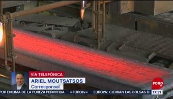 Foto: EU anuncia impuestos a productos de acero en México