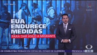EU endurece medidas para dar asilo a migrantes
