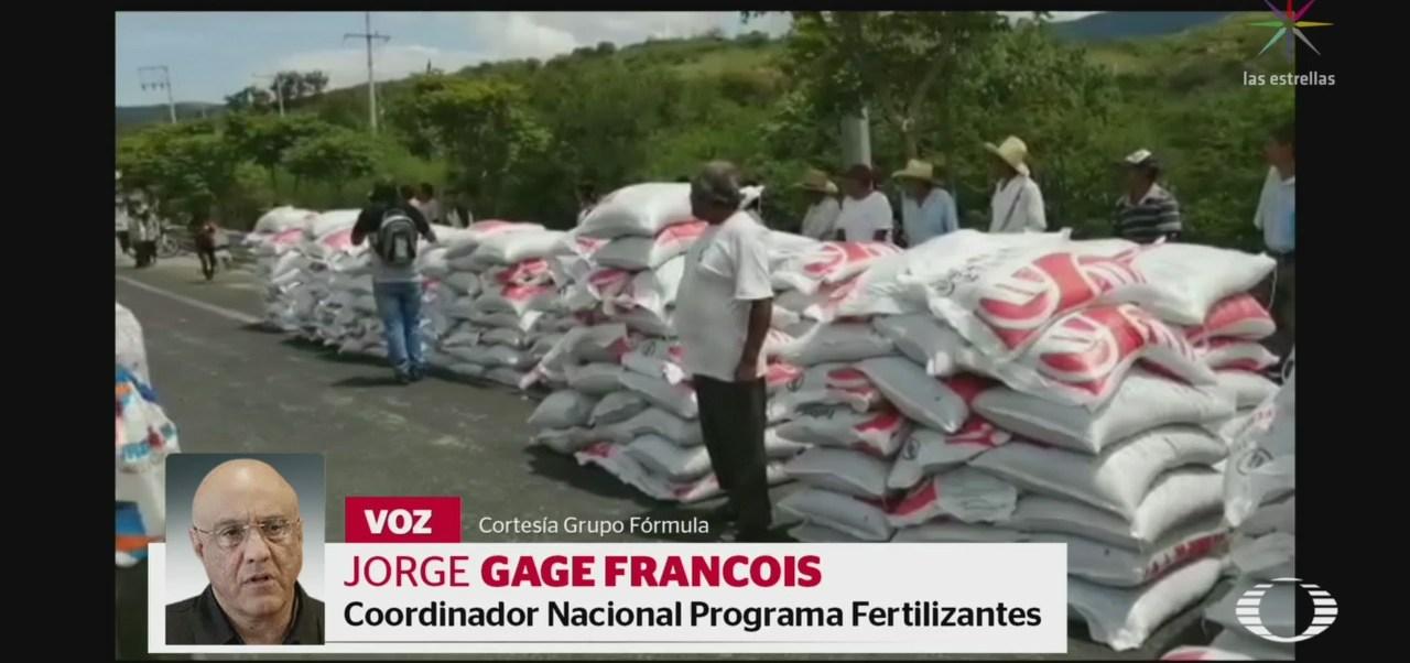 Foto: Fertilizante Entregado Campesinos Guerrero 16 Julio 2019